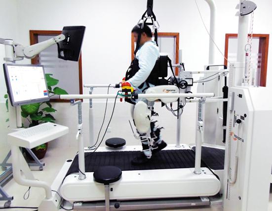 脑卒中患者进行下肢康复机器人步行训练-弗锐达博客